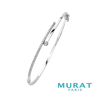 MURAT Paris米哈巴黎 氣質滿鑽平衡骨手環