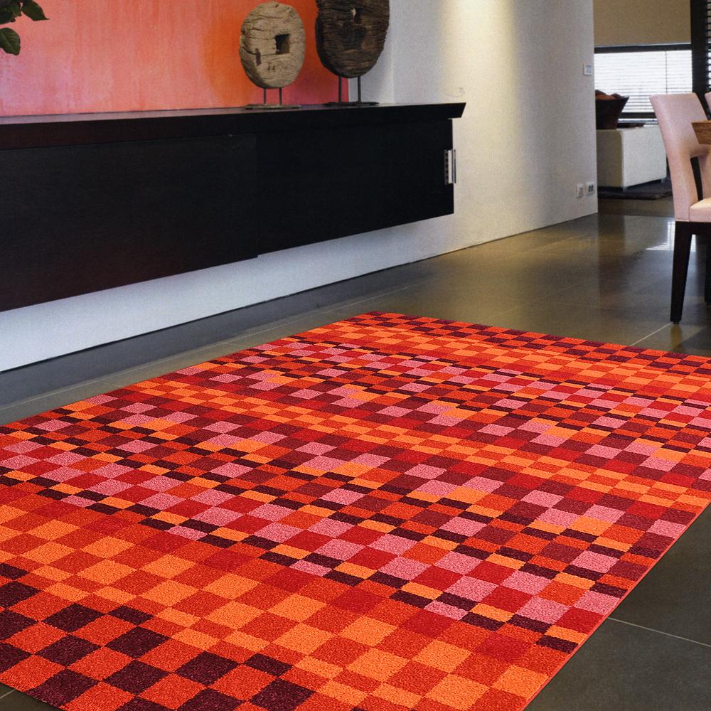 Ambience-比利時infinity 現代地毯 -方格(160x230cm)