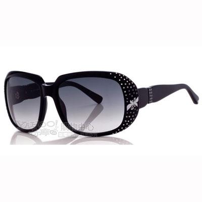 SWAROVSKI-時尚太陽眼鏡(黑色)SW13