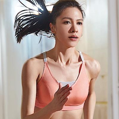 蕾黛絲-釋壓運動背心運動內衣 M-EEL(美舒橘)