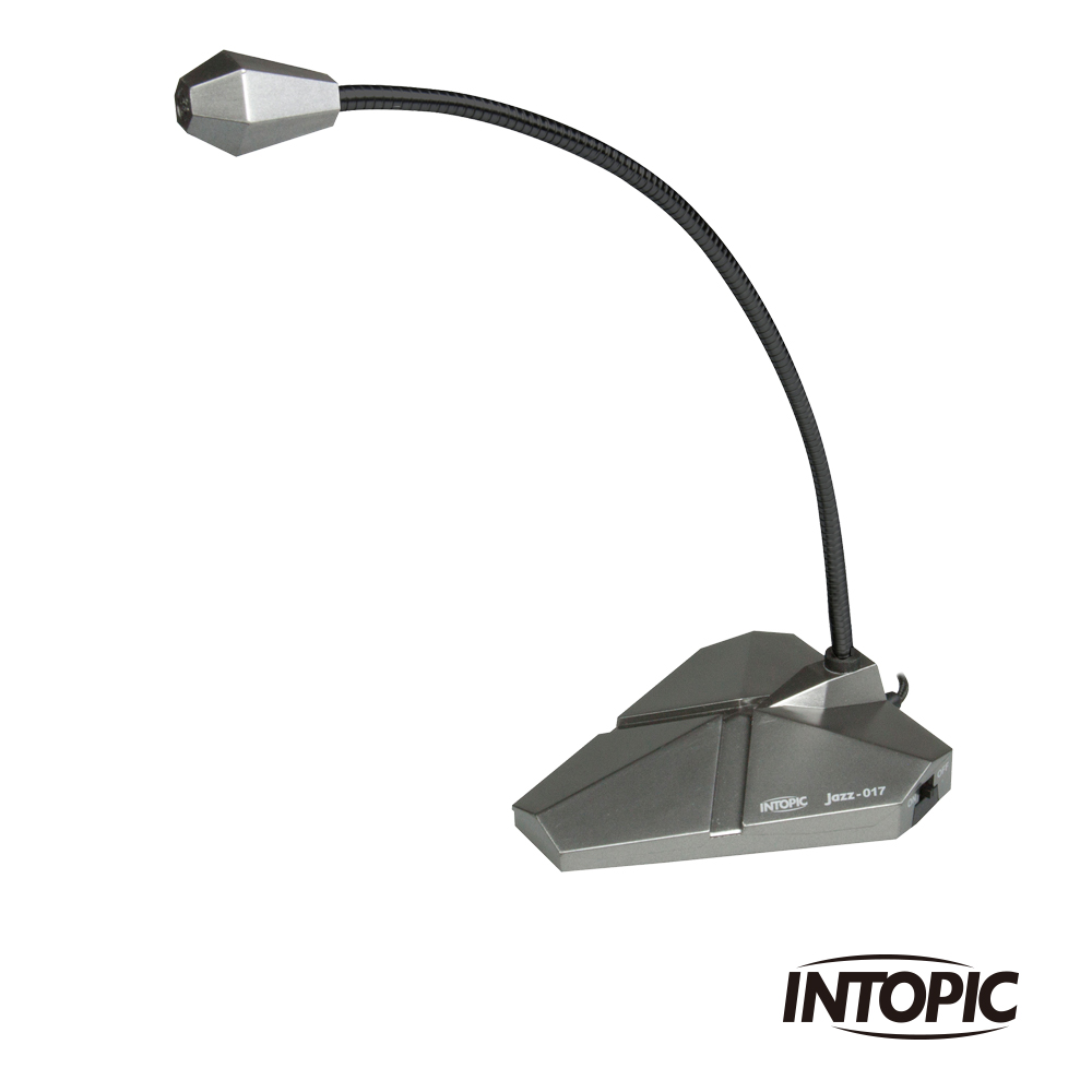 INTOPIC 廣鼎 桌上型麥克風(JAZZ-017)
