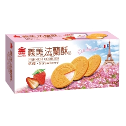 義美 草莓法蘭酥(132g)