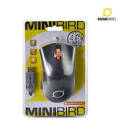 MINIBIRD有線靜音滑鼠(MWM004)