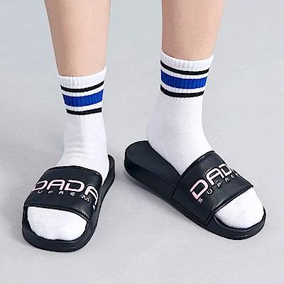 DADA SUPREME A.D.A.N. 潮流運動拖鞋-女-黑粉
