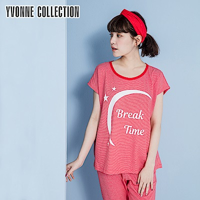 YVONNE COLLECTION 細條紋Break Time上衣