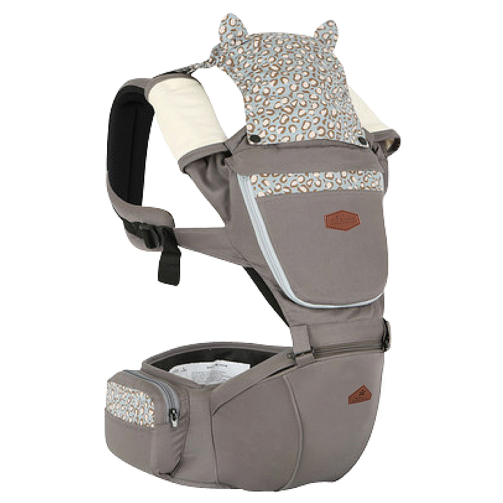 Animal Carnival動物嘉年華座椅式抱嬰揹帶-葛瑞小貓