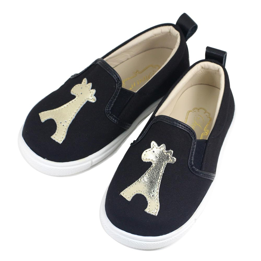 Swan天鵝童鞋-長頸鹿休閒鞋 3775-黑