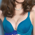 推Audrey-玫瑰柔情 B-D罩內衣(明艷藍)