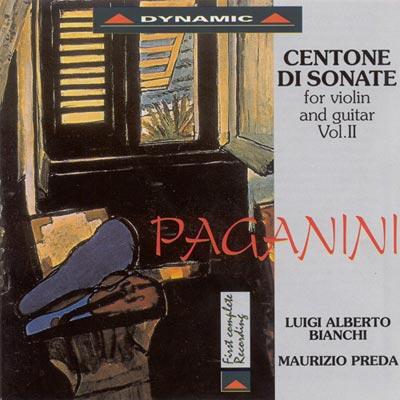 帕格尼尼 - 小提琴與吉他奏鳴曲4 CD