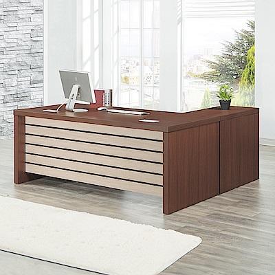 Bernice-達夫主管辦公桌組合(辦公桌+側邊櫃+活動櫃)-180x85x76cm