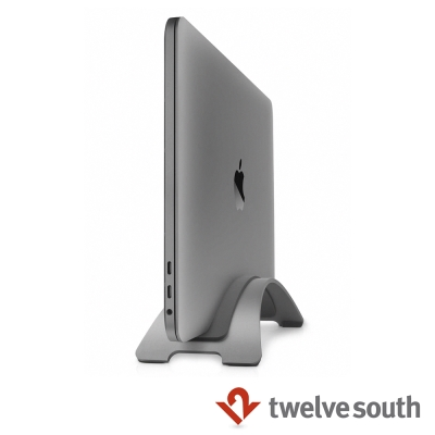 Twelve South BookArc 直立式筆電座 for MacBook - 太空灰