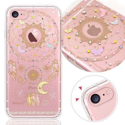KnowStar-APPLE-iPhone7-4-7吋-奧地利水晶彩繪防摔手機鑽殼-捕夢網