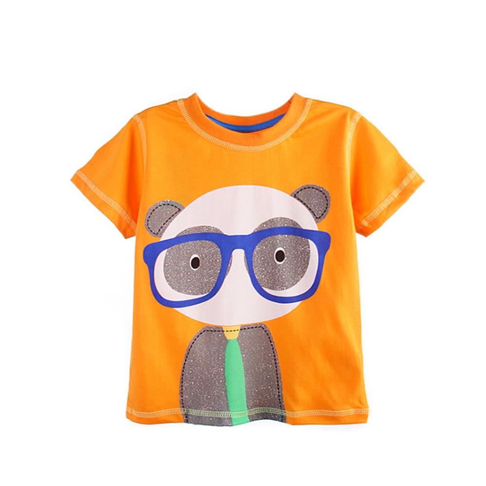 上衣 男童 熊貓先生 歐美經典兒童純棉短袖T恤