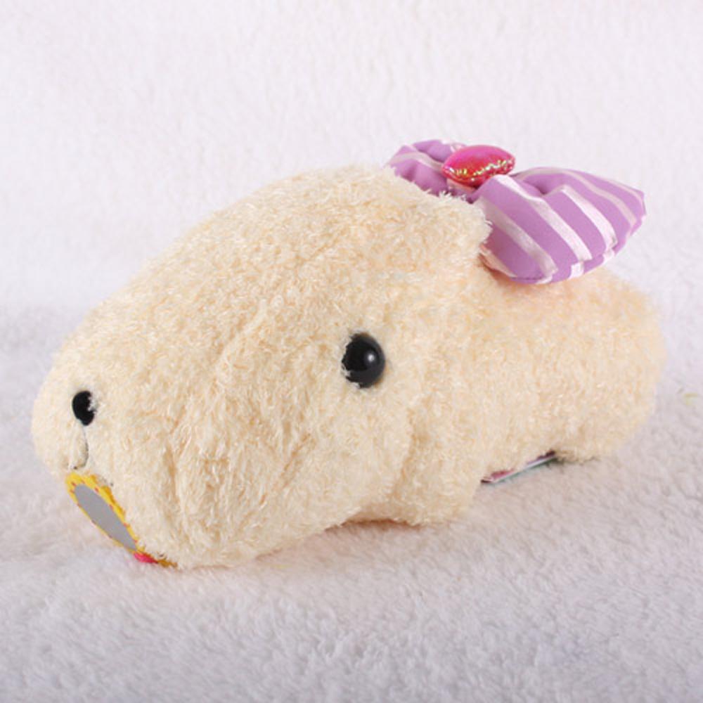 Kapibarasan 水豚君系列毛絨公仔(懷特小姐)
