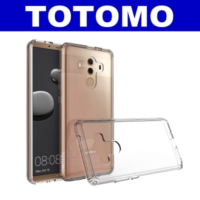 TOTOMO  For:華為Mate10-Pro 防摔保護殼(高顏質超透感硬背板...