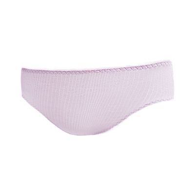 【曼黛瑪璉】輕氧Bra  低腰三角棉褲(黎明紫)