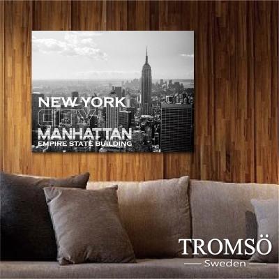 TROMSO時尚無框畫-文字紐約