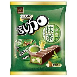 77 乳加巧克力-宇治抹茶杏仁(147g)