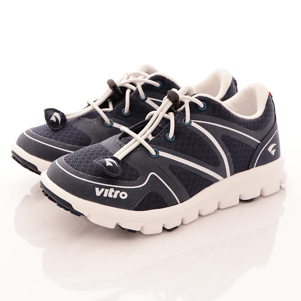 Vitro韓國專業運動品牌-BUNGEE運動童鞋-藍(男)