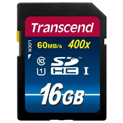 創見 16G SDHC Class 10 UHS-I 400x記憶卡