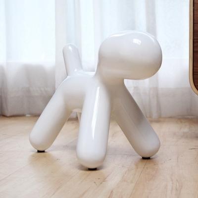 H&D Puppy Chair復刻款狗狗造型椅/裝飾椅/小-白色