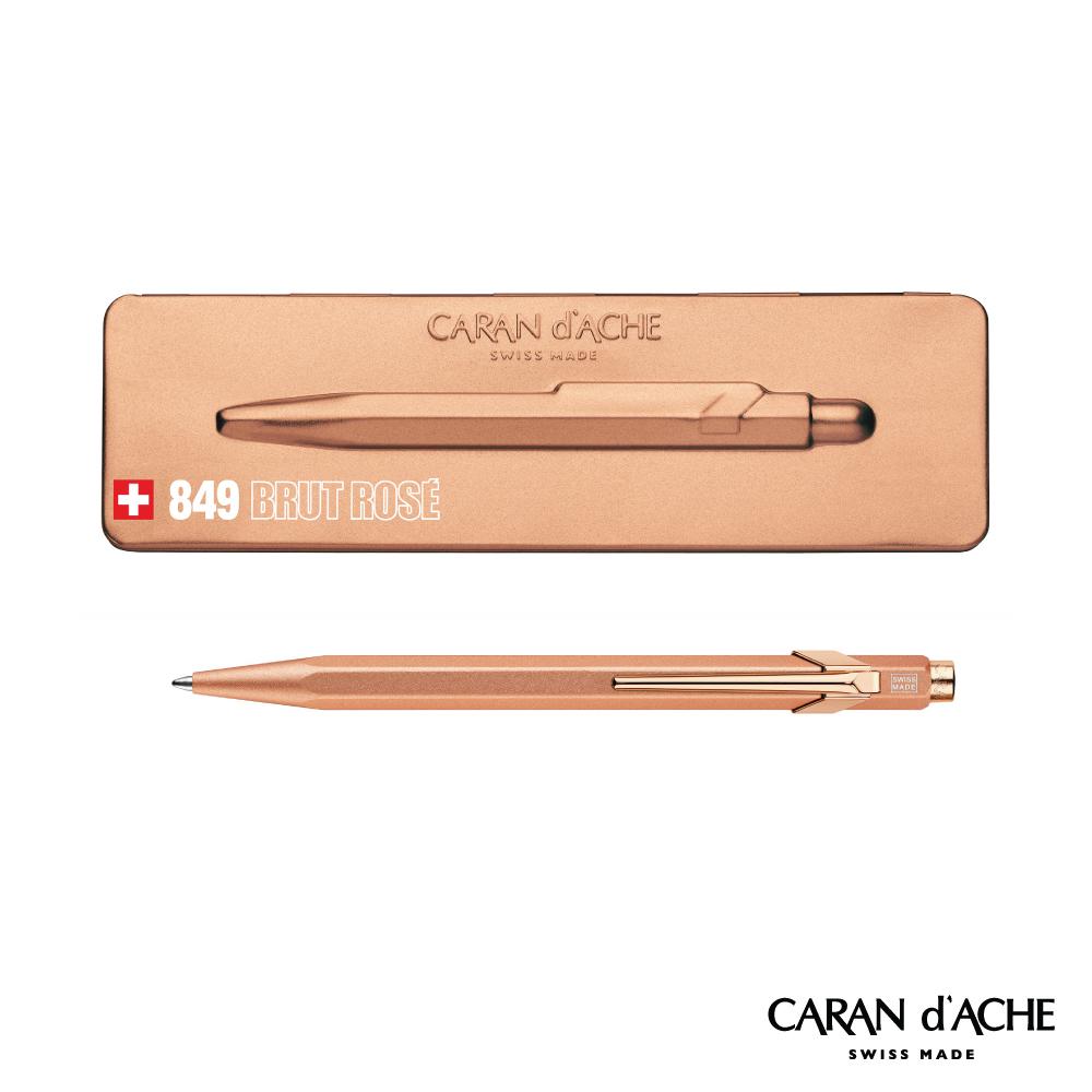 CARAN d'ACHE 卡達 - 849系列 玫瑰金 原子筆