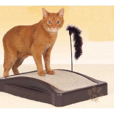 站立耐用加厚貓抓板 1入