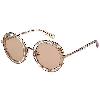 Salvatore Ferragamo 太陽眼鏡(玫瑰金+花漾粉)SF164S