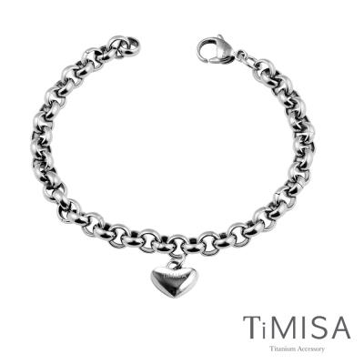 TiMISA《真心風之戀》純鈦手鍊(M)
