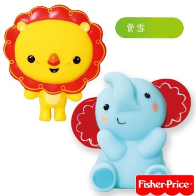費雪Fisher-Price-小象+小獅子
