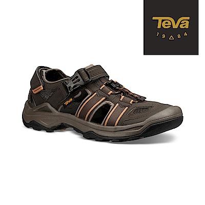 TEVA 美國 男 Omnium 2 護趾水陸機能涼鞋 橄欖綠