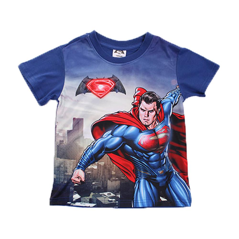 蝙蝠俠對超人正義曙光短袖T恤 k50096