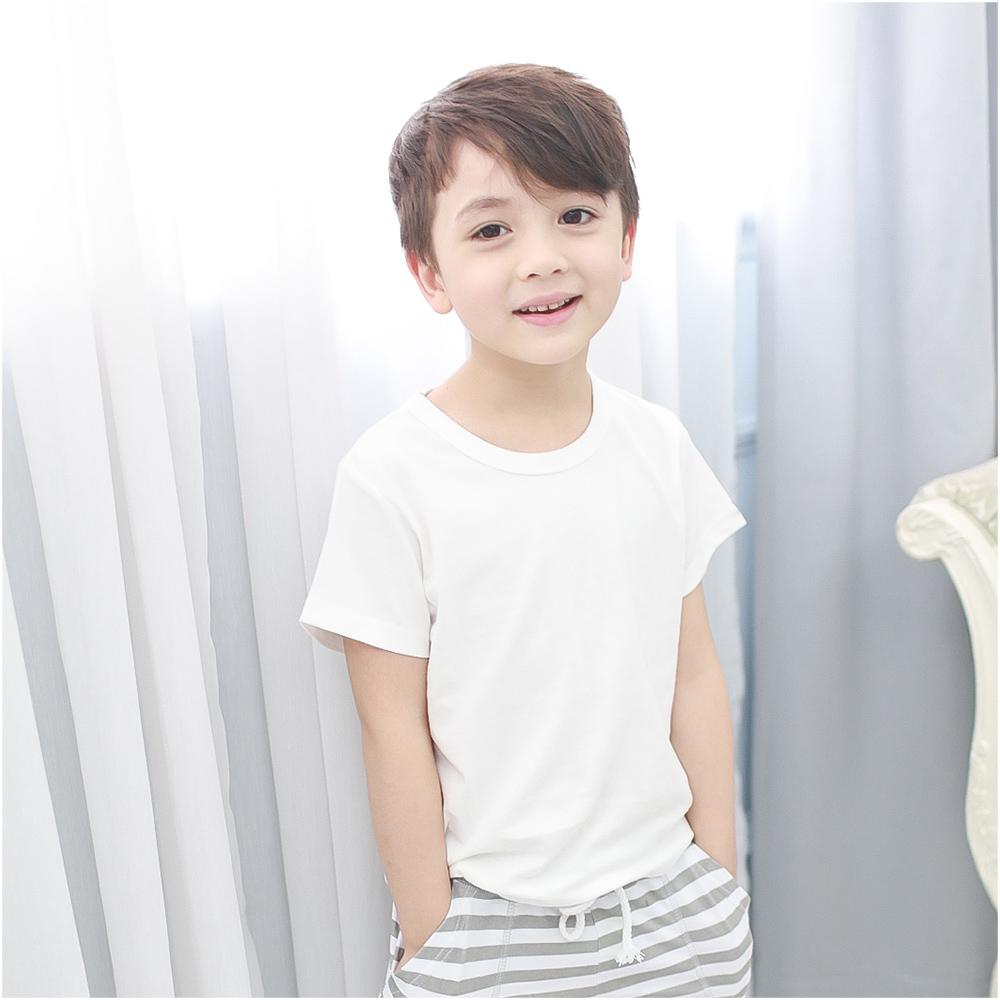 baby童衣 短袖 純棉素色圓領短T 51081