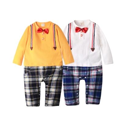 baby童衣 男童休閒長袖上衣 俏皮上衣假吊帶服款50779