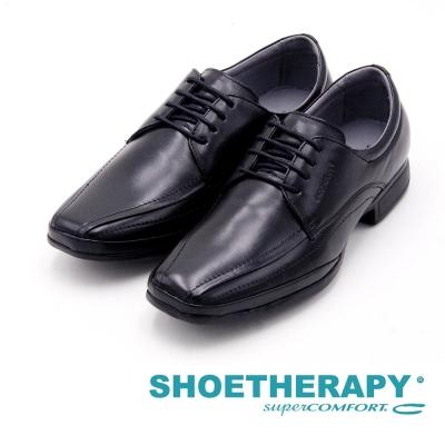 SAPATOTERAPIA 巴西方頭綁帶紳士皮鞋 男鞋-黑