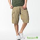 bossini男裝-休閒口袋短褲01茶色