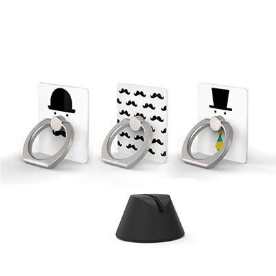 OpenBox iRing 韓流超夯隨身環紳士特別款-支架套組