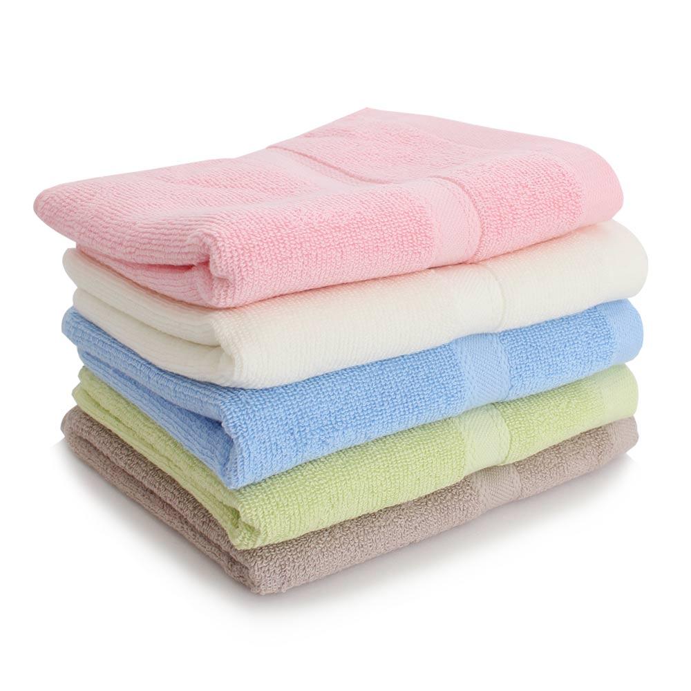 Lovel 六星級飯店素色純棉毛巾6件組(共5色)