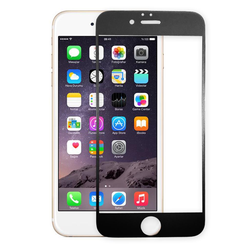 PSD Iphone6S plus(5.5)霧面磨砂滿版鋼化玻璃保護貼