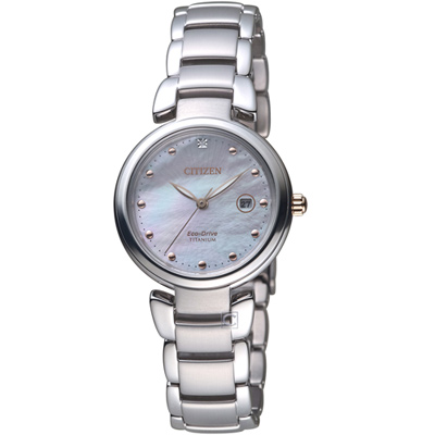 星辰CITIZEN Ladies花漾時尚優雅腕錶(EW2506-81Y)-29mm