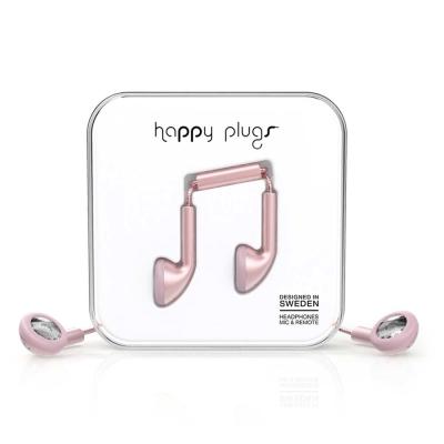 Happy Plugs 音符耳塞式耳機 奢華限定款-金屬色系