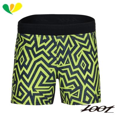 ZOOT 頂級極致冰涼感5吋路跑短褲(男) Z1704025(閃電黃)