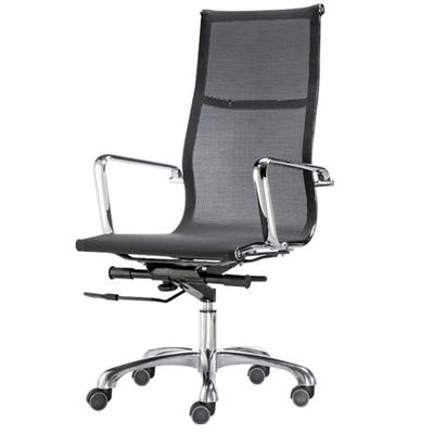 aaronation愛倫國度 透氣網布高背椅(i-RS903N-B)