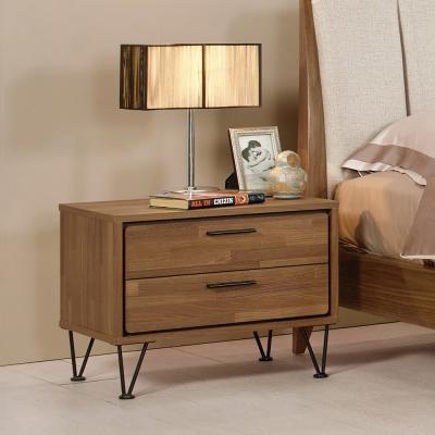 Boden-威利斯1.9尺胡桃色床頭櫃-58x41x46cm