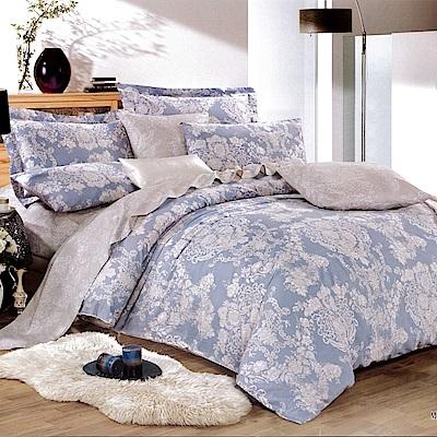 生活提案 純棉涼被床包組 特大四件組 花語怡然