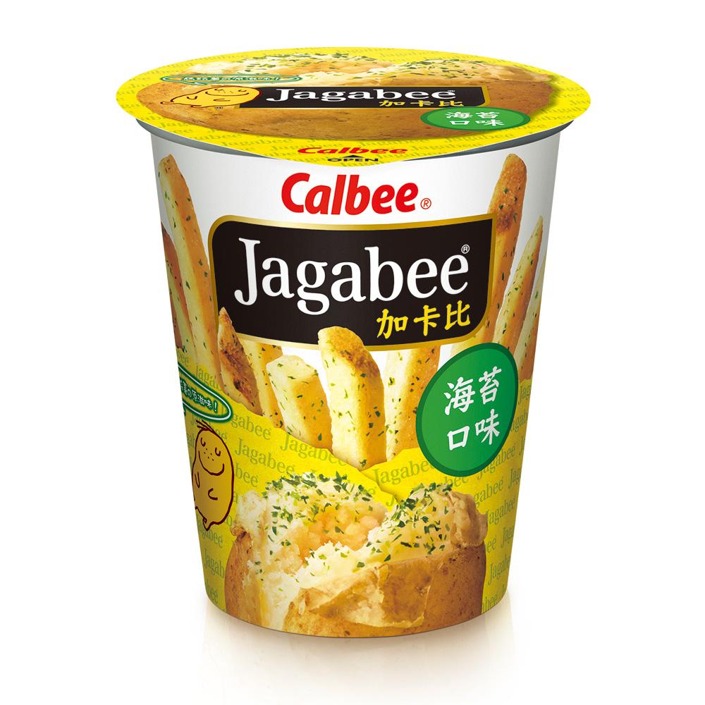 Calbee 薯條先生杯裝-海苔(40gx6杯)