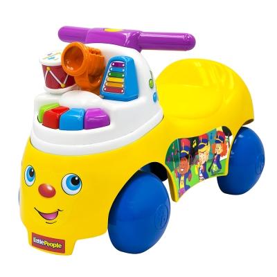 費雪 little people-歡樂音樂家騎乘玩具(1-3Y)