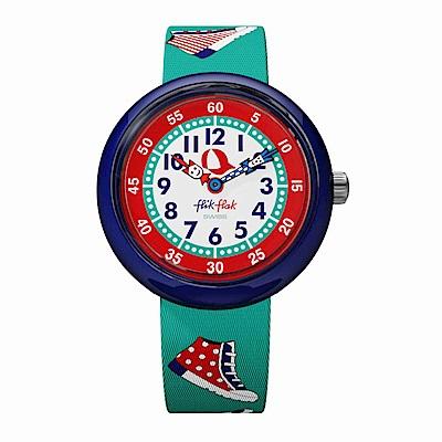 FlikFlak 兒童錶 SNEAKY 玩轉滑板鞋手錶