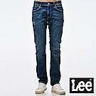 Lee 牛仔褲 724中腰標準小直筒牛仔褲-男款-中藍