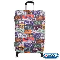 OUTDOOR-行李箱保護套-車牌-M-ODS15B07MCP